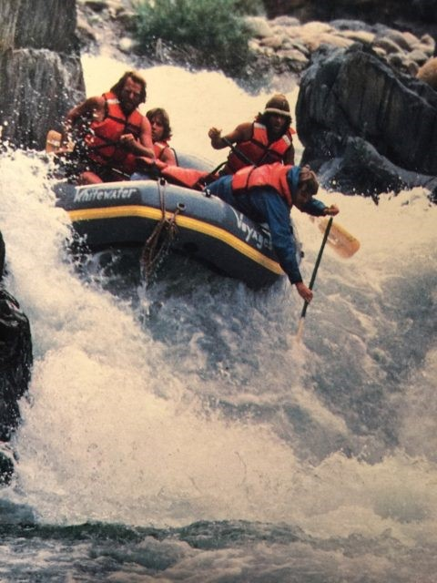 Tunnel Chute Rafting